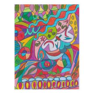 COLOR EYE CANDY COLLECTION POSTCARD