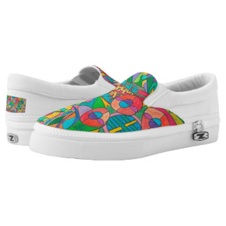 Color Eye Candy Zipz Slip On Shoes 117 Printed Shoes