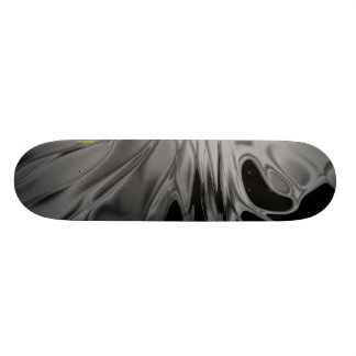 Color Flare (in Black and White) Skate Board Deck