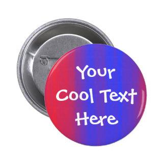 """Color flow"" Template 6 Cm Round Badge"