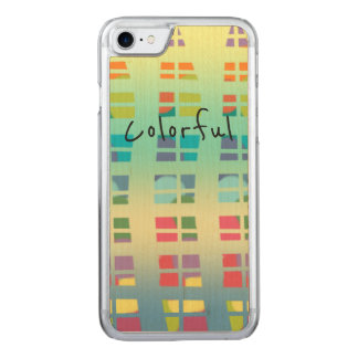 Color Full Carved iPhone 8/7 Case