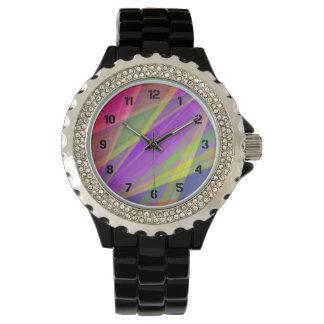 Color Fusion Wrist Watch
