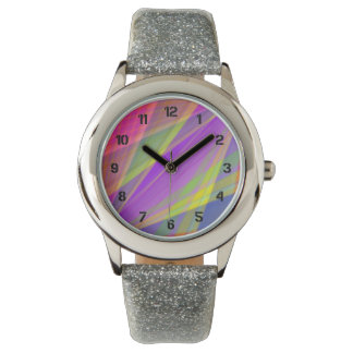 Color Fusion Wrist Watches