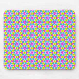 Color Geometric Pattern 02 Mouse Pad