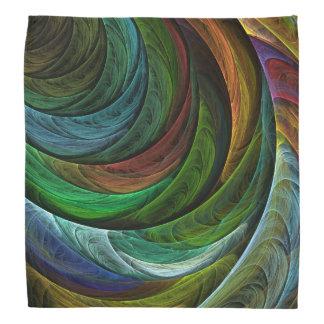 Color Glory Abstract Art Bandana