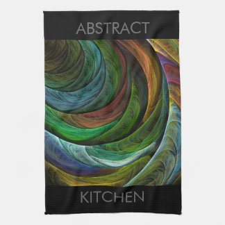 Color Glory Abstract Art Kitchen Towel