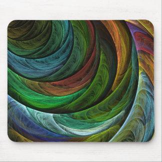 Color Glory Abstract Art Mousepad