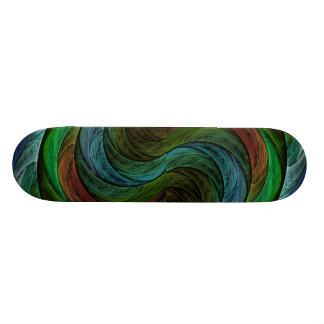 Color Glory Abstract Art Skateboard