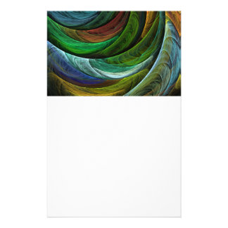 Color Glory Abstract Art Stationery