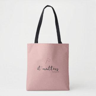 Color Guard: It Matters Tote Bag