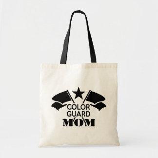 Color Guard Mom Tote Bag