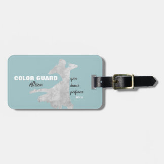 Color Guard With Spin Dance Perform   Luggage Tag