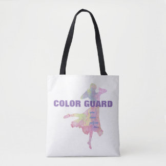 Color Guard With Spin Dance Perform | Tote Bag