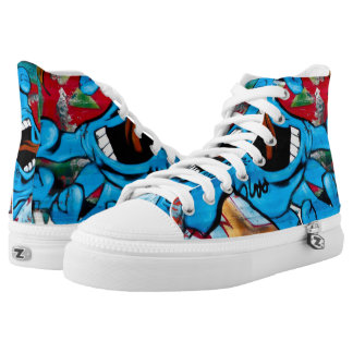 Color Hand High Tops