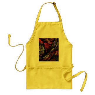Color Harmony Abstract Art Apron