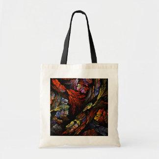 Color Harmony Abstract Art Tote Bag