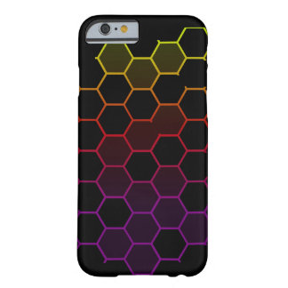 Color Hex on Black Barely There iPhone 6 Case