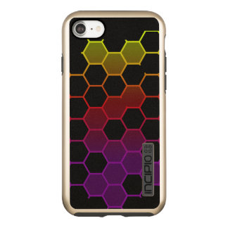 Color Hex on Black Incipio DualPro Shine iPhone 8/7 Case