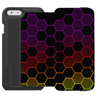 Color Hex on Black Incipio Watson™ iPhone 6 Wallet Case