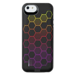 Color Hex on Black iPhone SE/5/5s Battery Case