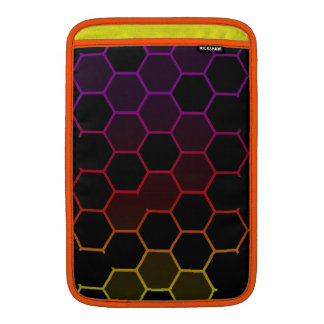 Color Hex on Black MacBook Sleeve