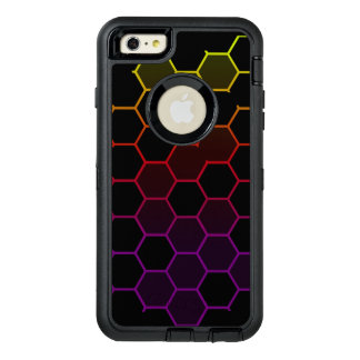 Color Hex on Black OtterBox Defender iPhone Case