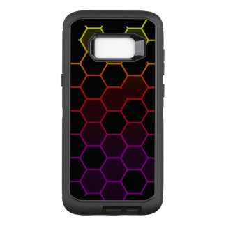 Color Hex on Black OtterBox Defender Samsung Galaxy S8+ Case