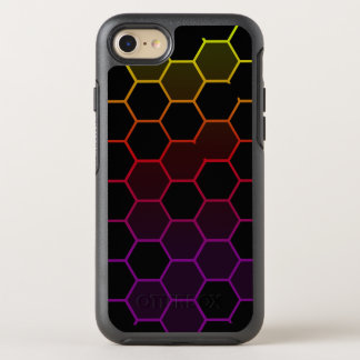 Color Hex on Black OtterBox Symmetry iPhone 8/7 Case