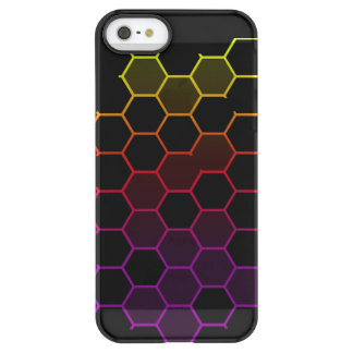 Color Hex on Black Permafrost® iPhone SE/5/5s Case
