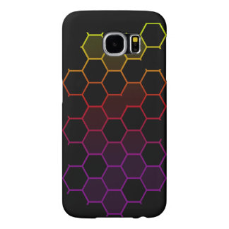 Color Hex on Black Samsung Galaxy S6 Cases