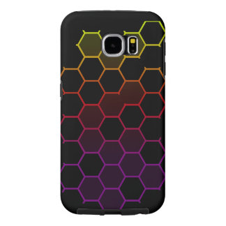 Color Hex on Black Samsung Galaxy S6 Cases