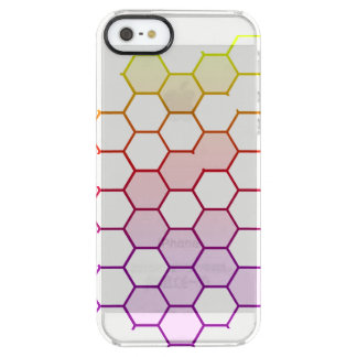 Color Hex on White Clear iPhone SE/5/5s Case