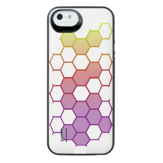 Color Hex on White iPhone SE/5/5s Battery Case
