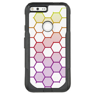 Color Hex on White OtterBox Commuter Google Pixel XL Case