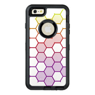 Color Hex on White OtterBox Defender iPhone Case