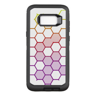 Color Hex on White OtterBox Defender Samsung Galaxy S8+ Case