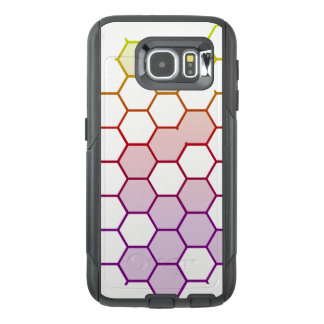 Color Hex on White OtterBox Samsung Galaxy S6 Case