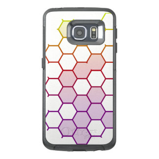 Color Hex on White OtterBox Samsung Galaxy S6 Edge Case
