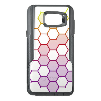 Color Hex on White OtterBox Samsung Note 5 Case