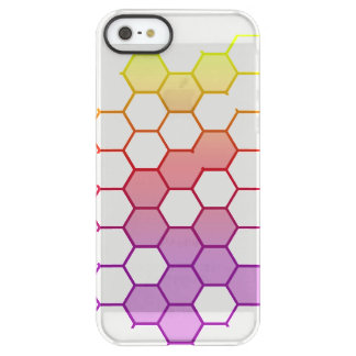 Color Hex on White Permafrost® iPhone SE/5/5s Case