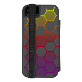 Color Hex with Grey Incipio Watson™ iPhone 5 Wallet Case