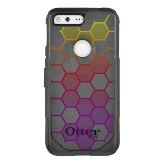 Color Hex with Grey OtterBox Commuter Google Pixel Case