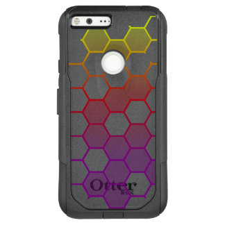 Color Hex with Grey OtterBox Commuter Google Pixel XL Case