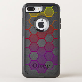 Color Hex with Grey OtterBox Commuter iPhone 7 Plus Case