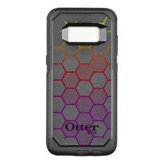 Color Hex with Grey OtterBox Commuter Samsung Galaxy S8 Case