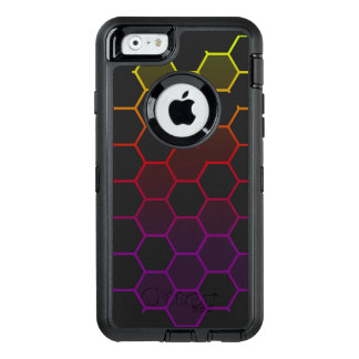 Color Hex with Grey OtterBox Defender iPhone Case