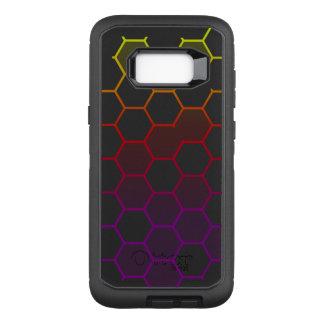 Color Hex with Grey OtterBox Defender Samsung Galaxy S8+ Case