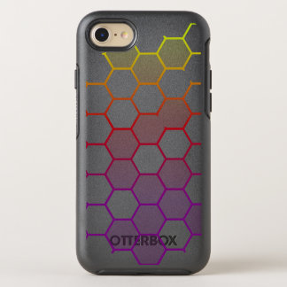 Color Hex with Grey OtterBox Symmetry iPhone 8/7 Case