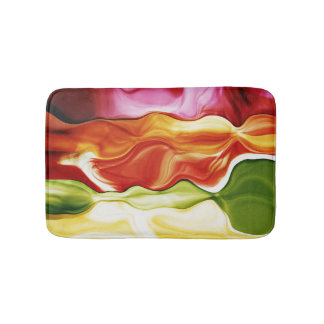 color in motion #2 bath mats