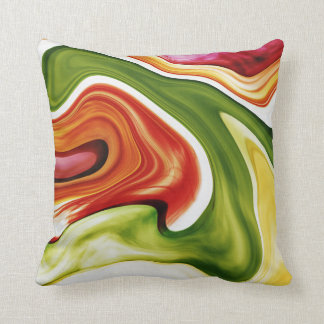 Color in motion Dekokissen 40.6 cm Throw Pillow